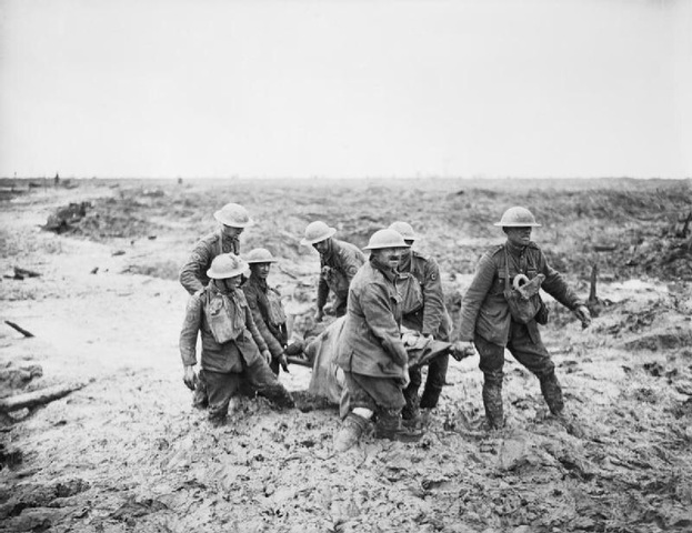 Start of the Battle of Passchendaele (Third Battle of Ypres).