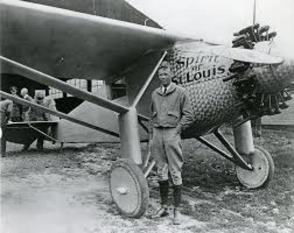Charles Lindbergh's great flight