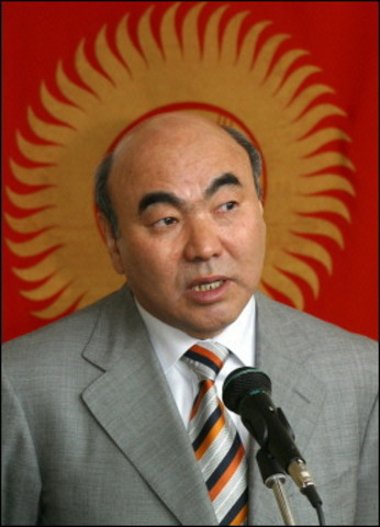 Askar Akayev re-elected president for a further five years?