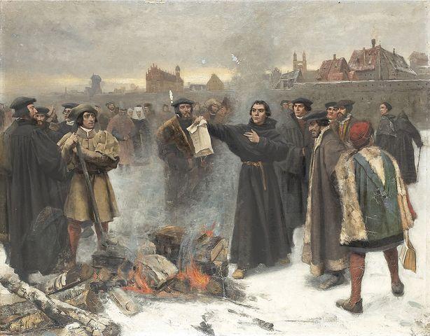 Luther Opposes Charles V