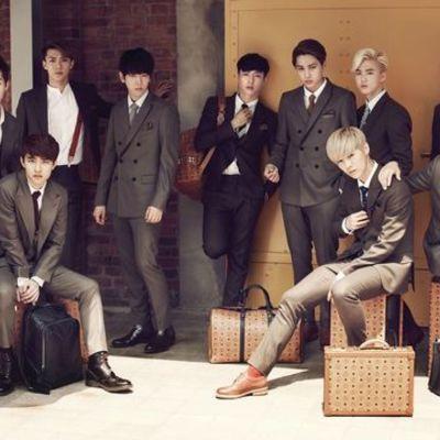 Альбомы корейской группы EXO timeline