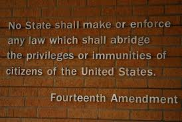 Fourteenth Amendment to the United States Constitution