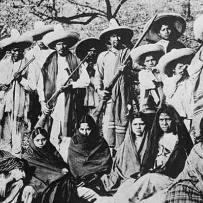 México de 1808 a 1920 timeline