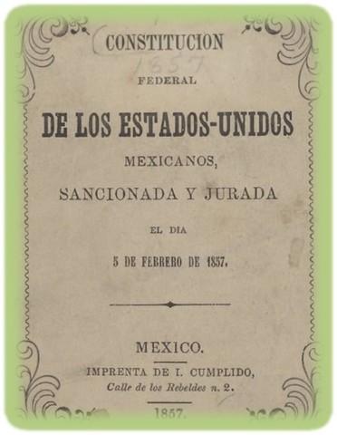 CONSTITUCION MEXICANA 1857