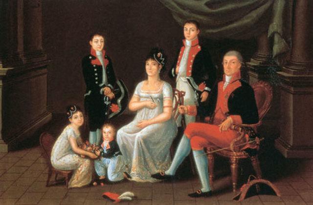 FAMILIA DEL SIGLO XIX