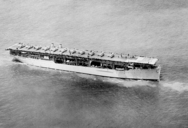 First Aircraft Carrier