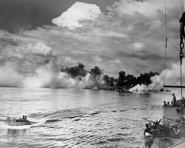 Battle At Leyte Gulf