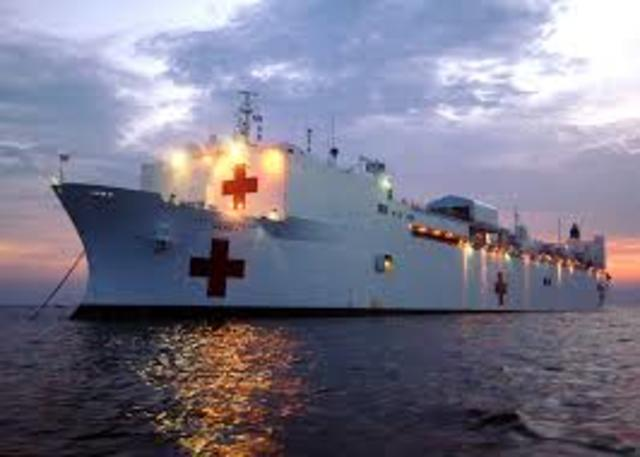 Medical Aid To Japan Following Earthquake