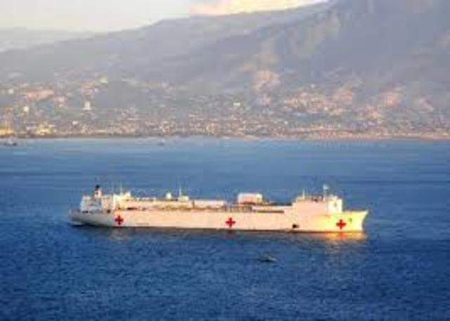USNS Aid After Earthquake in Haiti