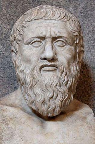 Democrito y Platon