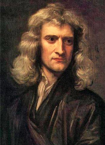 Isaac Newton (domina teoria por 100años)