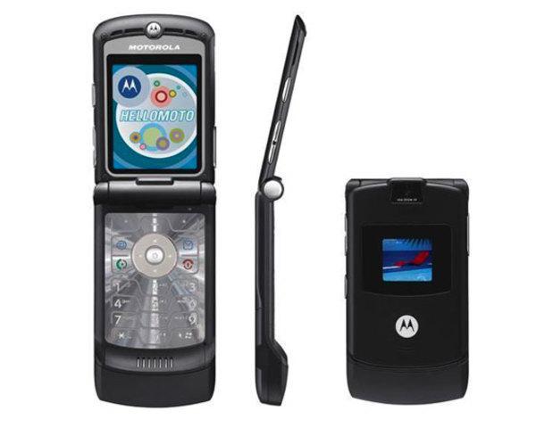 (2004) Motorola Razr V3