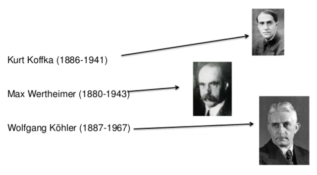 TEORÍA DE GESTALT. WERTHEIMER (1880-1943). KÖHLER (1887-1967). KOFFKA (1886-1941)