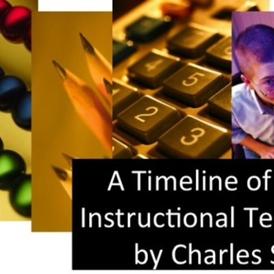 History of ID and Instructional Technology developments timeline