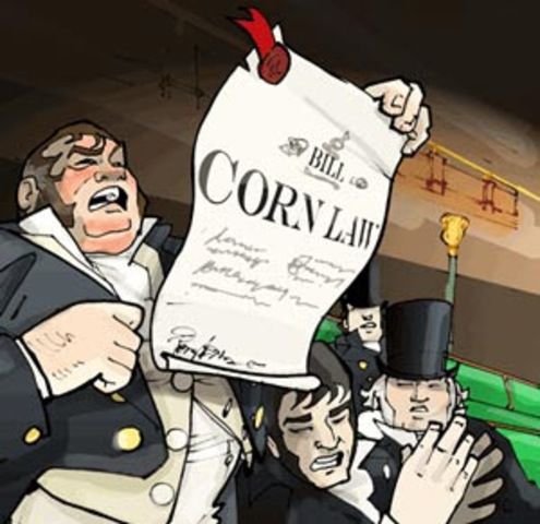 Corn Law- Politics and Law