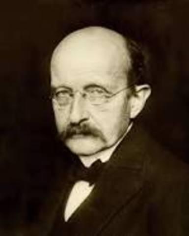 Max Planck: Curva de emisión luminosa del cuerpo negro.