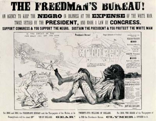 Freedman's Bureau created