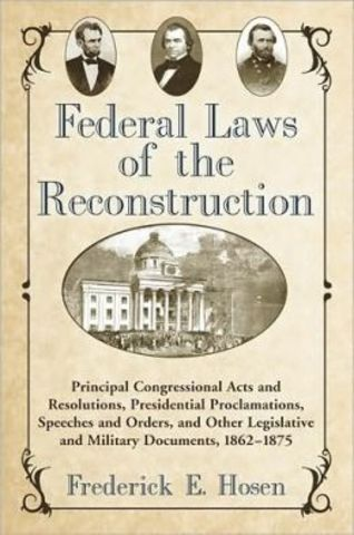 southern united states and military reconstruction Ap united states history  critical questions that faced the united states during reconstruction  the military reconstruction act of 1867 required that.