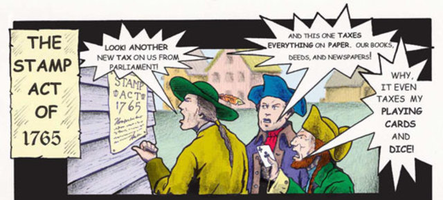 Stamp Act Colonist Reaction