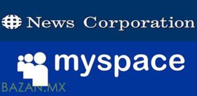 Compra de Myspace