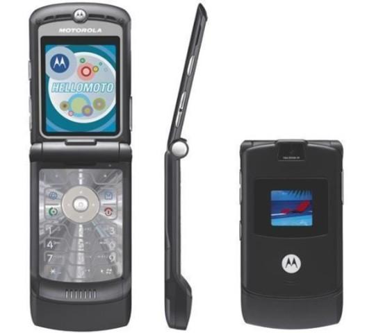 Innovación con el Motorola Razr V3