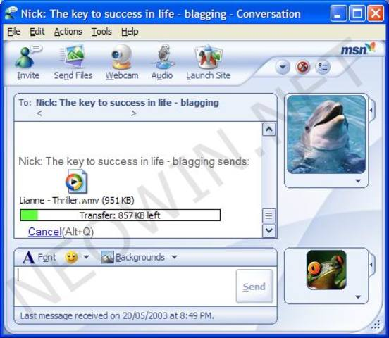 Actualización 6.0 de MSN Messenger