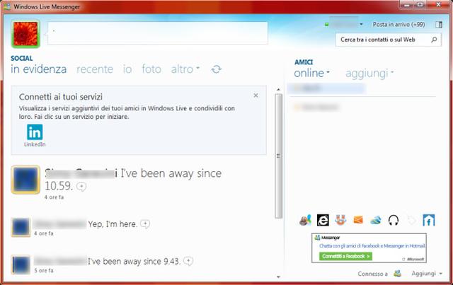 Última versión de Windows Live Messenger