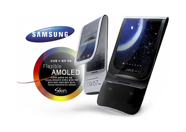 Samsung anuncia pantalla de smartphone flexible