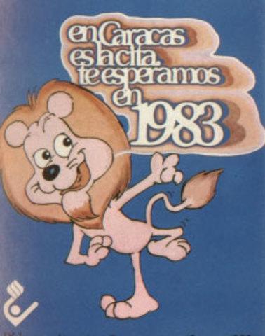 Deportistas de América se dieron cita en Caracas en 1983