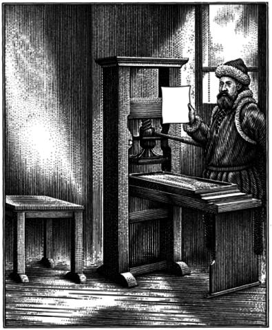 La primera imprenta