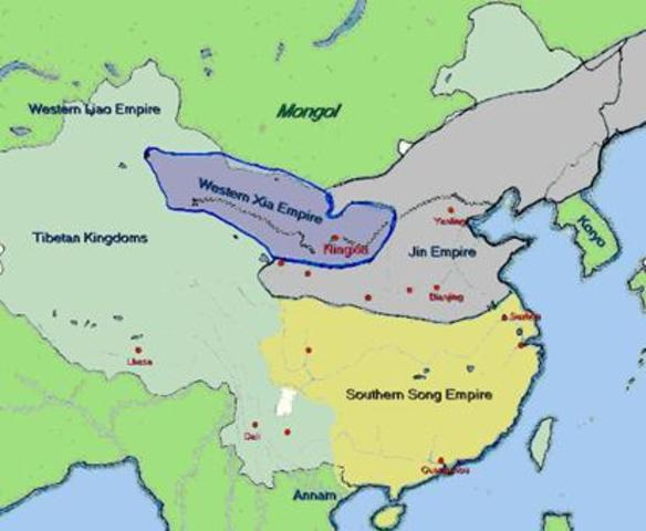 Genghis Khan Begins His Campaign