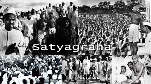 gandhi assignment 1 (timeline) | Timetoast timelines Non Violent Resistance Satyagraha