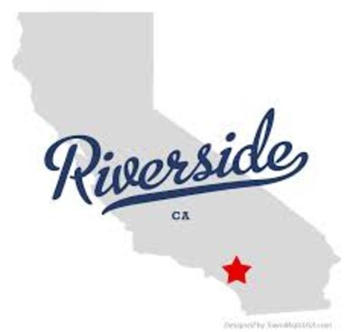 Born in Riverside, Ca