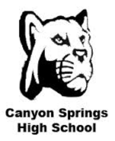 Transfered to Canyon Springs High School, Moreno Valley