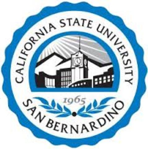 School Business Management Certificate, Cal. State San Bernardino