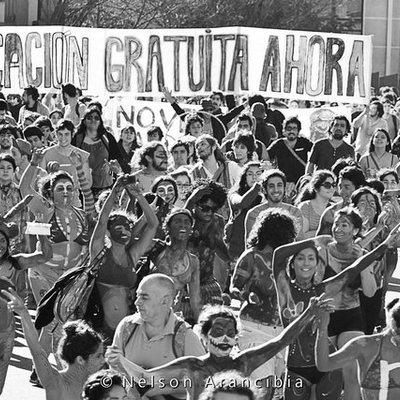 Historia Movimiento Estudiantil Chileno timeline