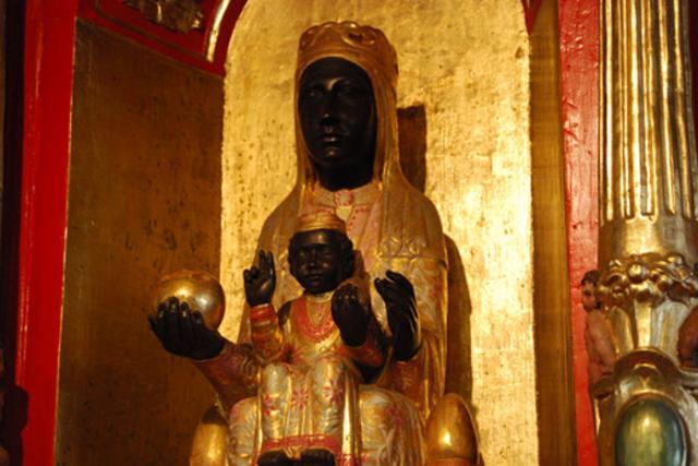 Ermita destinada para la adoracion de la Virgen de Monserrat