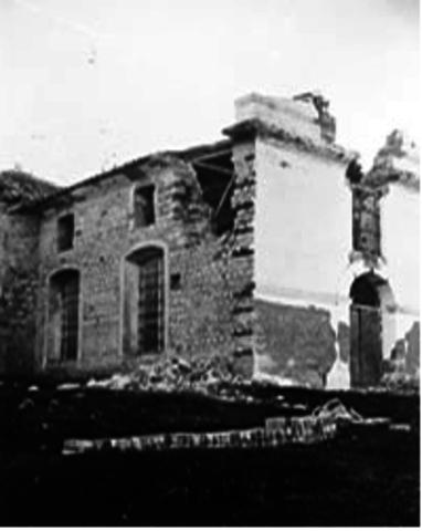Daño por el terremoto
