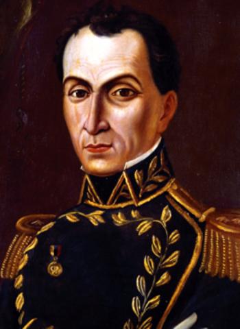 POSESIÓN DE BOLIVAR