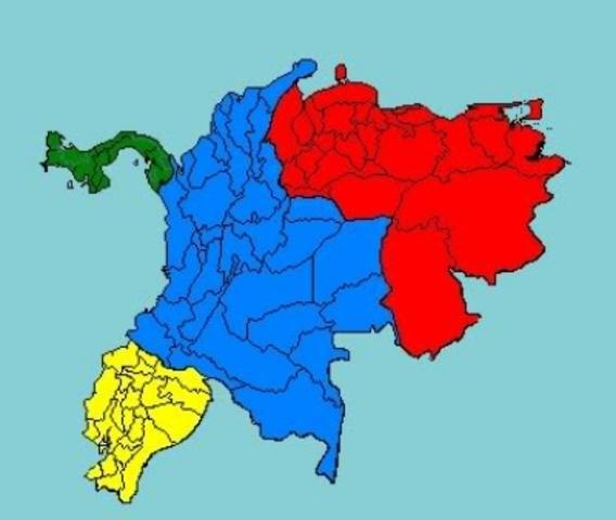 UNION DE PANAMA A LA GRAN COLOMBIA