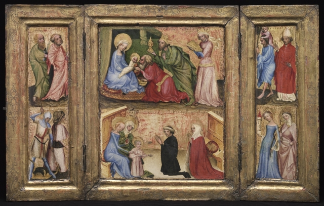 Triptych with the Adoration of the Magi (1424, Austria)