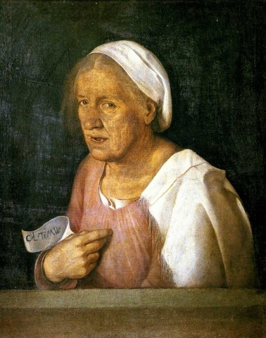 The Old Woman, Giorgione (1508, Italy)