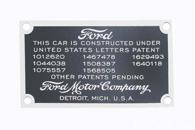 92 patentes de Ford fueron utilizadas libremente por otros fabricantes