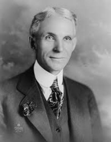 Henry Ford apelando y ganando la demanda antes mencionada