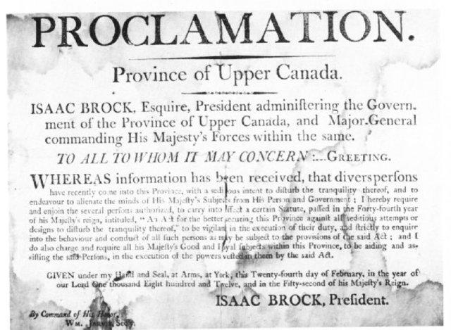 Hull's Proclamation