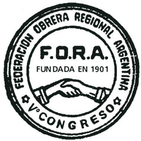 Nace FEDERACIÓN OBRERA ARG.