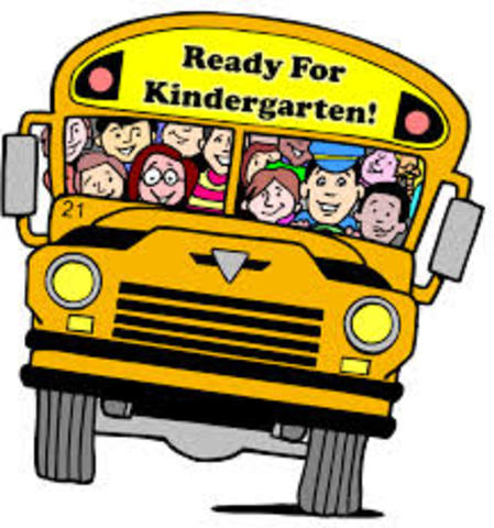 I started Kindergarten at Busy Learners