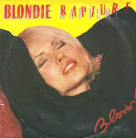 "Blondie's ""Rapture"" is MTV'S first ""rap"" video"