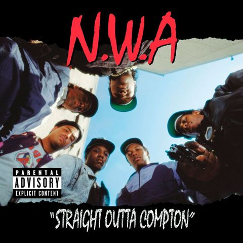 """N.W.A.'S Straight Outta Compton included """"Fuck tha Police,"""" a song that talks of racist LAPD. Media labels this work """"gangsta rap""""; but they call it """"reality rap."""""""