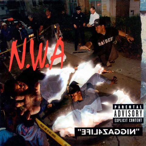 """N.W.A release last album """"Niggaz4Life"""""""